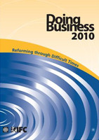 Doing Business in 2010, Reforming through Difficult Times